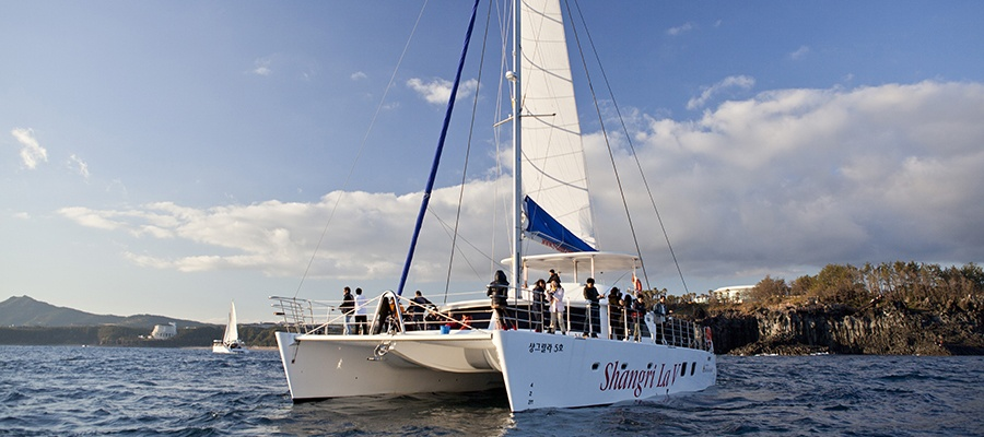 韓國濟州島香格里拉觀光遊艇票,濟州島出海遊船票,濟州島遊艇觀光票